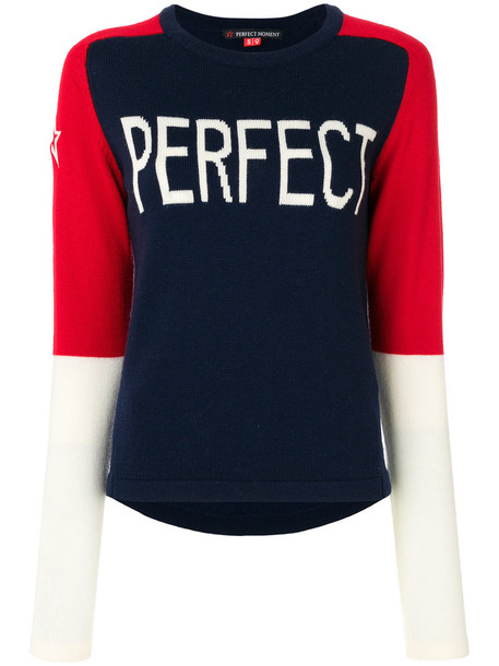Perfect Moment sweater women perfect blue