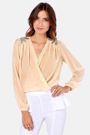 Cute beaded blouse