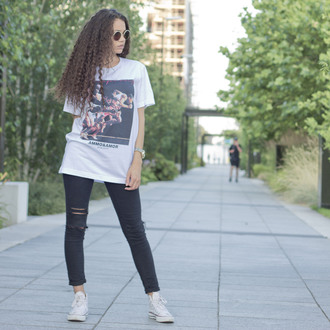 supreme t-shirt dope swag kanye west yeezy streetwear ammonamor jordan dappa