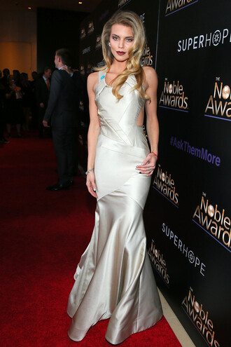 dress gown red carpet dress annalynne mccord prom dress