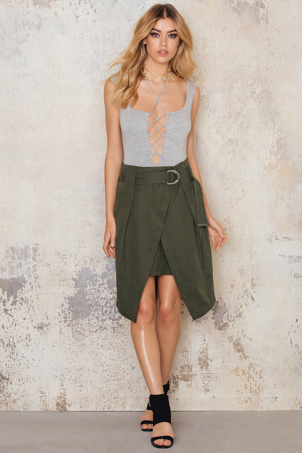Calvin Klein Franny Woven Skirt