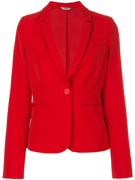 LIU JO blazer women spandex red jacket