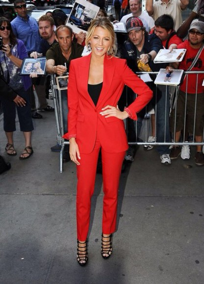 blake lively suit