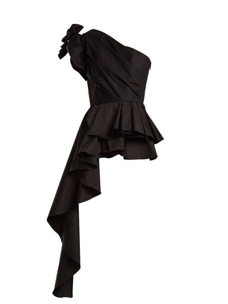Johanna Ortiz top cotton black