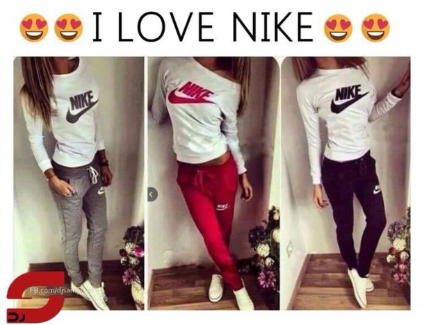 pants nike nike sweater nike sweatpants wheretoget. Black Bedroom Furniture Sets. Home Design Ideas