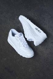 shoes,nike,air max,tumblr,white,urban,street,mens shoes,white sneakers,low top sneakers,nike sportswear,nike air white