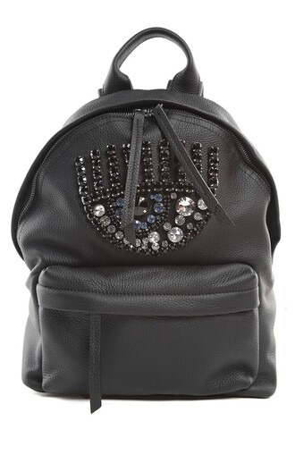 embellished backpack leather backpack leather bag