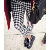 shoes,loafers,black,flatforms
