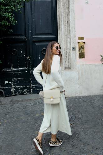 b a r t a b a c blogger sweater pants shoes bag sunglasses
