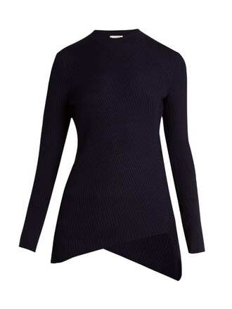 sweater knit navy
