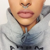 jewels,septum piercing,faux septum rings,septums,jewelry,nose ring,tribal pattern,itsmyrayeraye