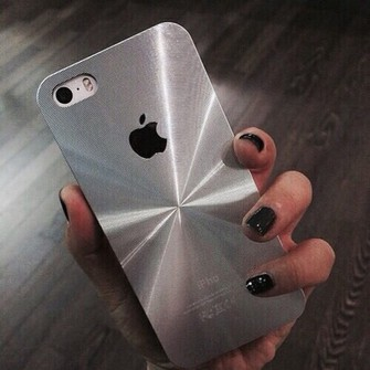 black silver tumblr nail polish phone cover stripes grey middle center iphone 4 iphone 5 case iphone 6 iphone black color quote on it on the reflection reflect centre shape apple phone cellphone case grey color signature signs sign symbol weheartit found on tumblr where to get it? :) the middle