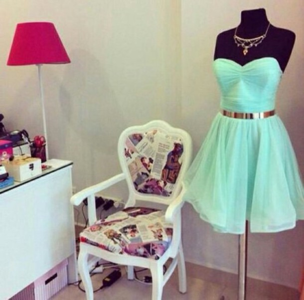 dress mint dress mint mint green prom dress lace beautiful