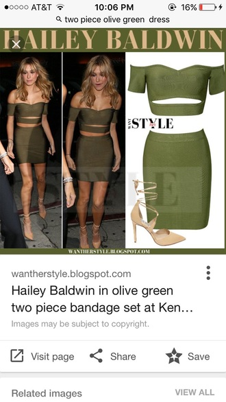 dress olive green bodycon dress two piece dress set off the shoulder green green dres green dress off the shoulder dress party dress sexy party dresses sexy dress sexy sexy outfit party outfits bodycon summer dress summer outfits spring dress spring outfits fall dress fall outfits winter dress winter outfits classy dress elegant dress hailey baldwin celebrity celebrity style celebstyle for less cocktail dress date outfit birthday dress summer holidays holiday dress romantic dress romantic summer dress clubwear club dress wedding clothes