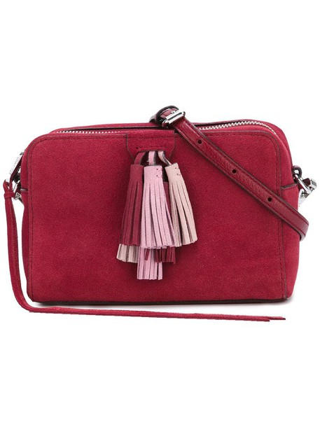 Rebecca Minkoff tassel women bag crossbody bag red