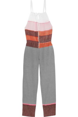 jumpsuit cotton pink