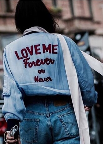jacket cool vintage denim jacket bomber jacket 90s style 80s style pretty instagram tumblr