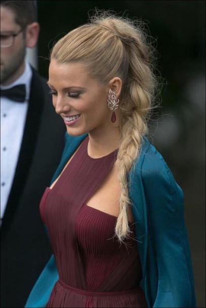 dress burgundy pleated dress