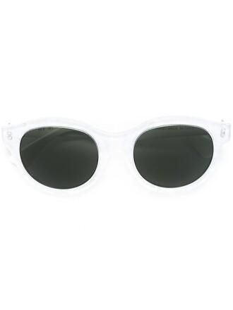 women pool sunglasses white