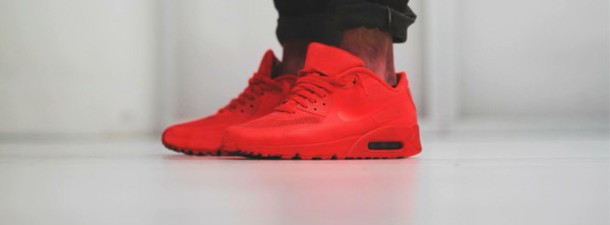 shoes air max red