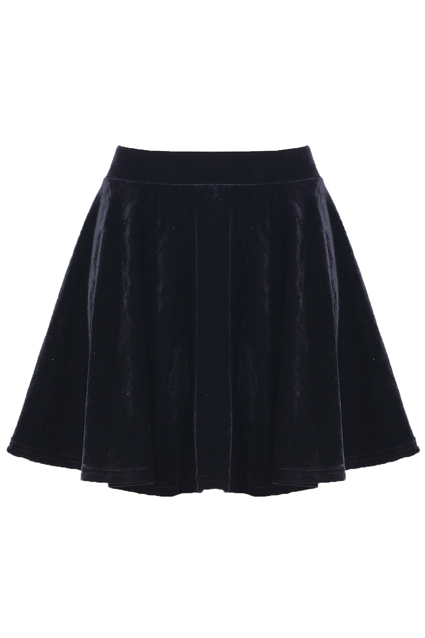 ROMWE | Black Metallic Skirt, The Latest Street Fashion