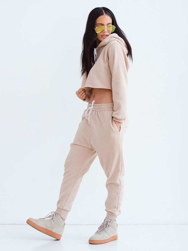 Sorella Dont Sweat It Sweat Suit -Nude