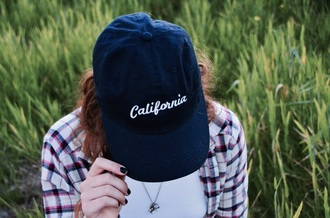 hat california girl beauty california brandy melville navy cute dress baseball cap