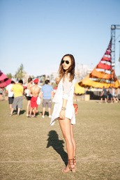 fashion toast,sunglasses,shirt,skirt,shoes,jewels,coachella,festival