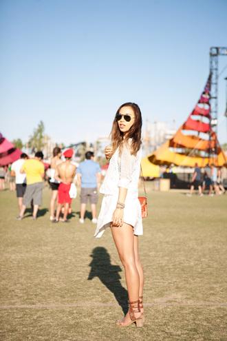 fashion toast sunglasses shirt skirt shoes jewels coachella festival