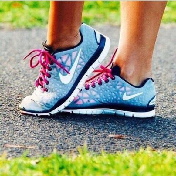 blue shoes nike running shoes pink strap shoes