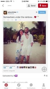 dress,kareena kapoor white suit,cotton