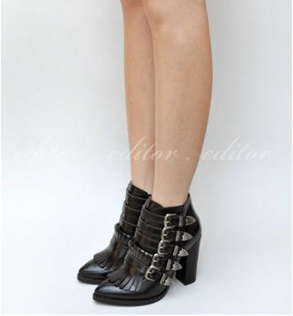 shoes black buckles buckle boots black boots high heels heels high heels boots