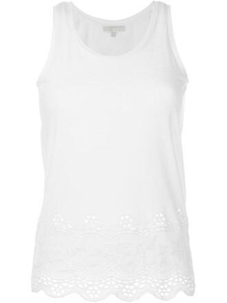 top crochet white