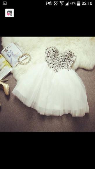 dress glitter glitter dress white white dress