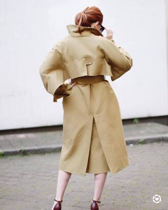 coat camel camel coat tumblr trench coat oversized oversized coat