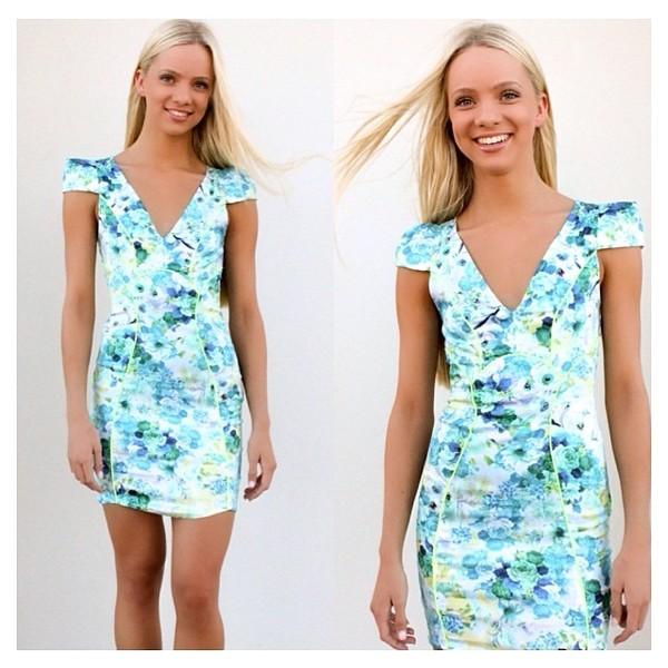 dress green dress blue dress green light blue party party dress casual dress casual cute cute dress floral
