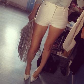 shorts fashion high waist