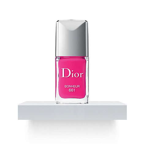 Dior Vernis - True colour, ultra-shiny, long wear in 661 Bonheur at debenhams.com