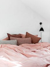 home accessory,pink,bedding,pillow,all pink everything,bedroom