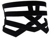 leather,waist belt,cage belt,black belt,belt,caged