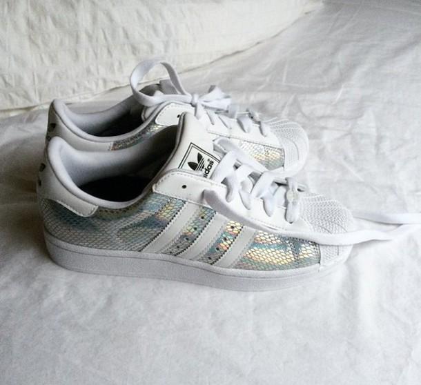 shoes adidas metallic shoes