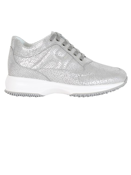 Hogan sneakers silver shoes