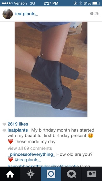 shoes instagram heels ankleboots boots