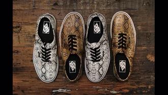 shoes vans snake print printed vans