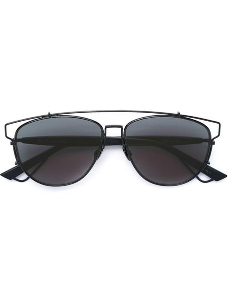 Dior Eyewear metal women sunglasses black