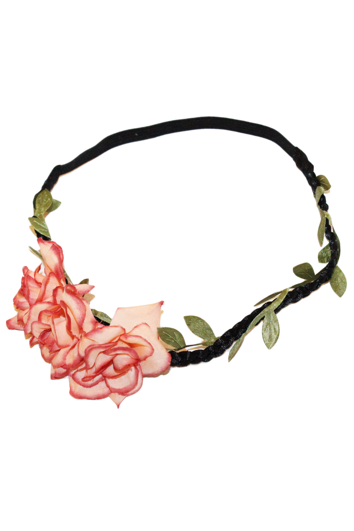 Two tone floral headband