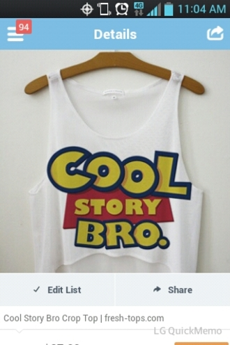 blue white blouse yellow cool story bro tank toy story