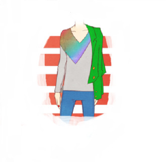 hipster shirt t-shirt rainbow rainbow shirt v-neck deep v neck long sleeves