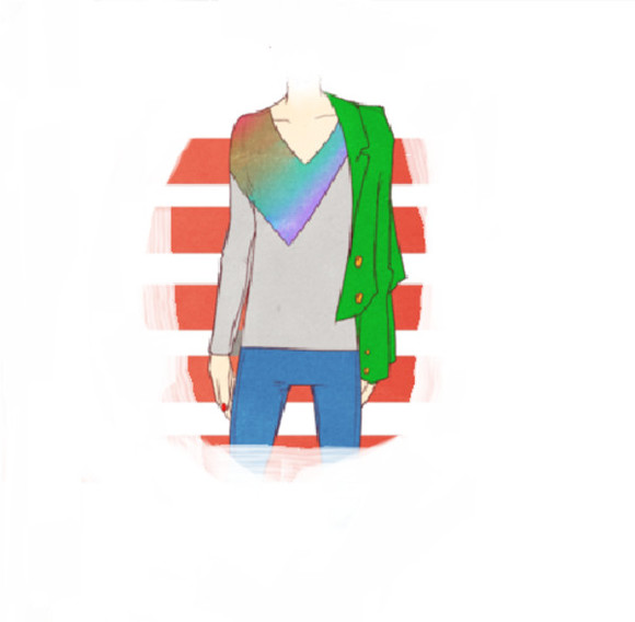 deep v neck shirt rainbow rainbow shirt v-neck long sleeve hipster t-shirt