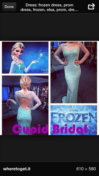 dress frozen dress